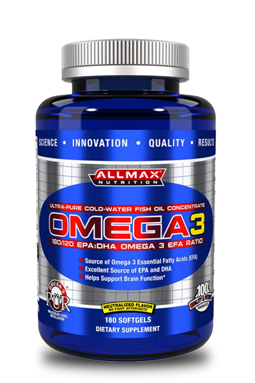 AllMax Omega 3 180 капсул