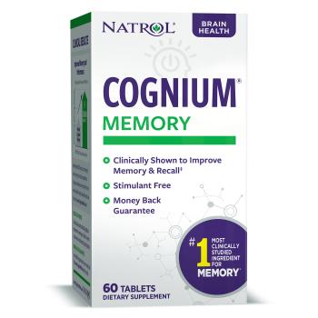 Natrol Cognium 100 mg 60 таблеток (Для улучшения памяти)