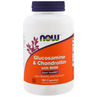 Now Glucosamine & Chondroitin MSM 180 капсул