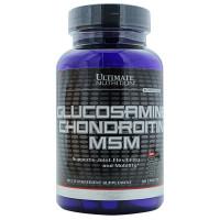 Ultimate Glucosamine Chondroitin MSM 90 таблеток