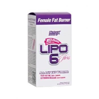 Nutrex Lipo-6 Hers 120 капсул