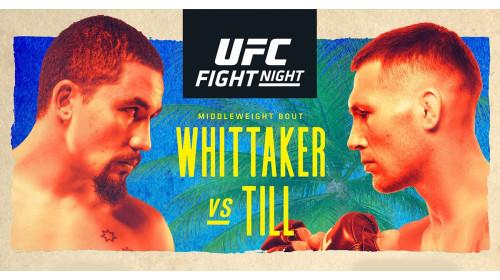 Результаты UFC Бойцовский остров 3: Уиттакер - Тилл