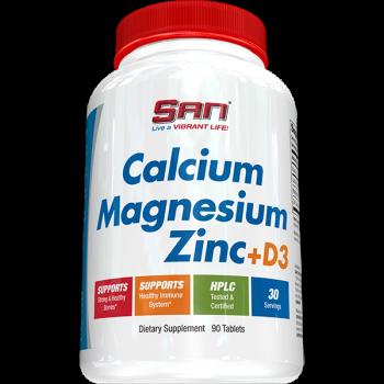 San Calcium Magnesium Zinc + D3 90 таблеток