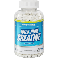 Body Attack 100% Pure Creatine 240 капсул