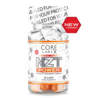 Core Labs NZT Power NEW 15 капсул (модафинил)
