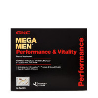 GNC Mega Men® Performance & Vitality Vitapak® Program 30 пакетов