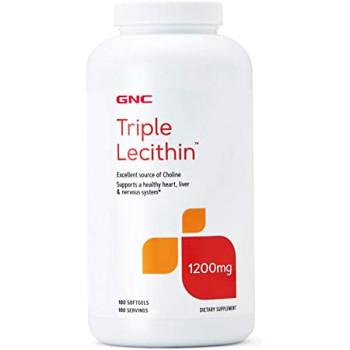 GNC Triple Lecithin 180 Softgels