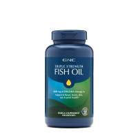 GNC Triple Strength Fish Oil MINI 120 капсул