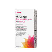 GNC Womens Prenatal Formula with DHA 90 Softgels