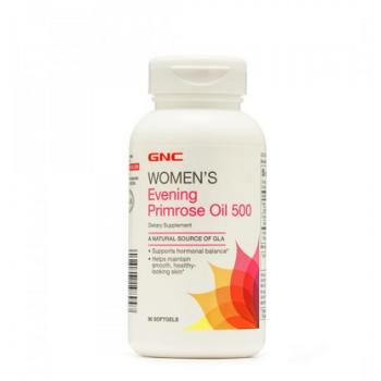 GNC Womens Evening Primrose Oil 500 90 softgels (Масло примулы вечерней)