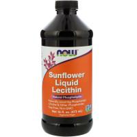 Лецитин жидкий Now Sunflower Liquid Lecithin 473 мл