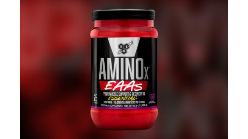 BSN в новом продукте AminoX делает 10 гр. EAA