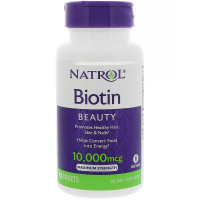 Natrol Biotin 10.000 mcg 100 таблеток