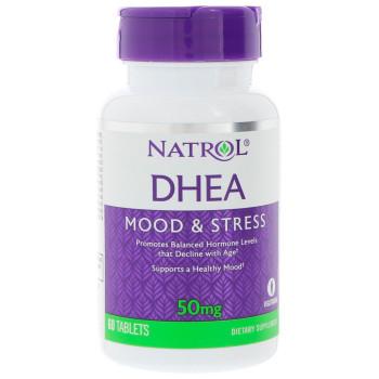 Natrol DHEA 50 mg 60 таблеток