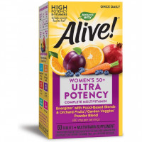 Natures Way Alive! Once Daily Women's 50 + Ultra Potency 60 таблеток