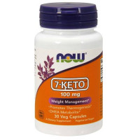 Now 7-KETO 100 mg 30 капсул