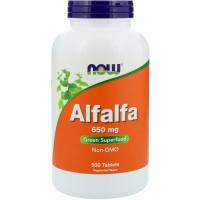 Now Alfalfa 650 mg 250 таблеток (Люцерна)