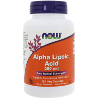 NOW Alpha Lipoic Acid 250 mg 120 капсул