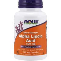 NOW Alpha Lipoic Acid 600 mg 120 капсул