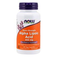NOW Alpha Lipoic Acid 600 mg 60 капсул