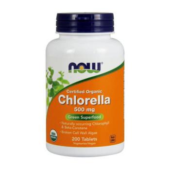 Now Chlorella 500mg 200 таблеток
