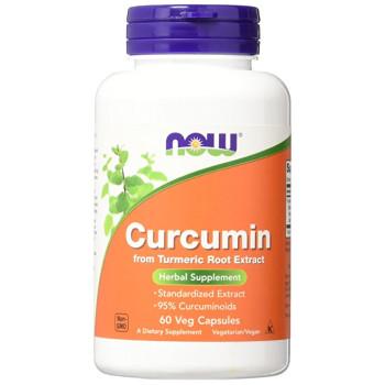 NOW Curcumine 60 капсул (665 мг)
