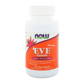 NOW Eve Women's Multi 120 капсул (Без железа)