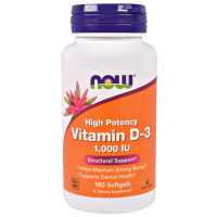 Now Vitamin D-3 1000 IU 360 капсул