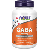 Now GABA 500 MG  100 капсул