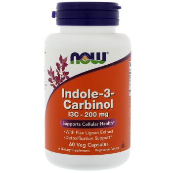 Now Indole 3 Carbinol 200mg 60 капсул