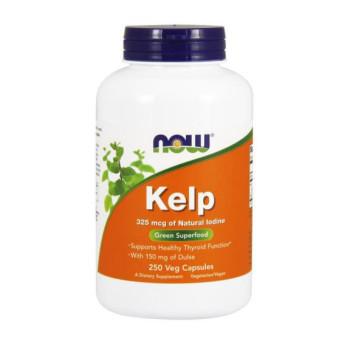 Now Kelp Caps 325 mcg 250 капсул