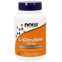 Now L-Citrulline 750 mg 180 капсул