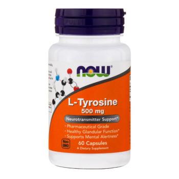 Now L-Tyrosine 500 mg 60 капсул