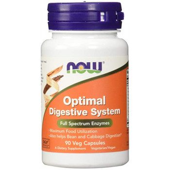 Now Optimal Digestive System 90 капсул