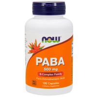 Now PABA 500 mg 100 капсул