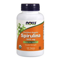 Now Spirulina 1000 mg 120 таблеток