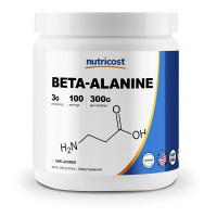 Nutricost USA Beta Alanine Powder 300 грамм