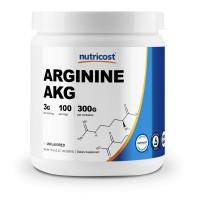 Nutricost USA Arginine AAKG 300 грамм (Без ароматизаторов)