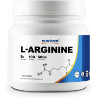 Nutricost USA Pure L-Arginine Powder 250 грамм