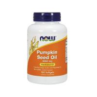 Now Pumpkin Seed Oil 1000 mg 100 капсул (Масло из тыквенных семян)