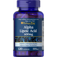 Puritan's Pride Alpha Lipoic Acid 600mg 30 капсул