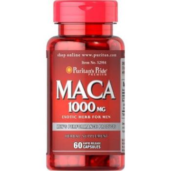 Puritan's Pride Maca 1000 mg 60 капсул