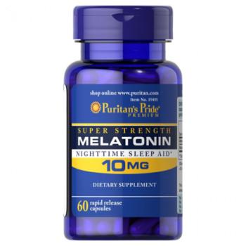 Puritan's Pride Melatonin 10 mg 60 капсул