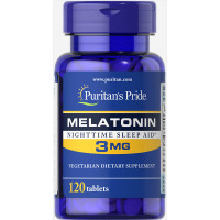 Puritan's Pride Melatonin 3 mg 120 таблеток