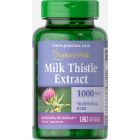 Puritan's Pride Milk Thistle 4:1 Extract 1000 mg (Silymarin) 90 Softgels