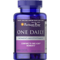 Puritan's Pride One Daily Women's Multivitamin 100 капсул