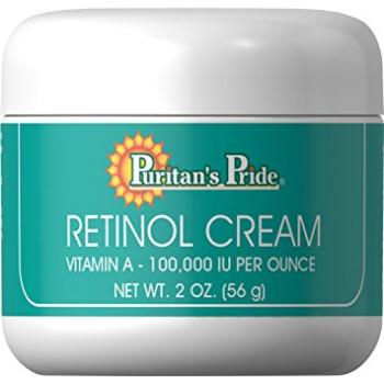 Puritan's Pride Retinol Cream (Vitamin A 100,000 IU Per Ounce) 56 грамм