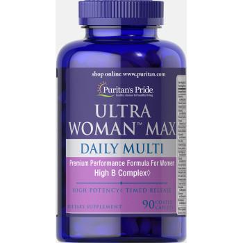 Puritan's Pride Ultra Woman™ Daily Multi 90 таблеток