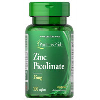 Puritan's Pride Zinc Picolinate 25 mg 100 капсул