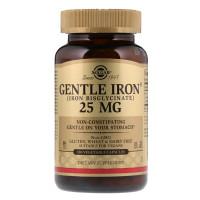 Solgar Gentle Iron 25 mg 180 капсул